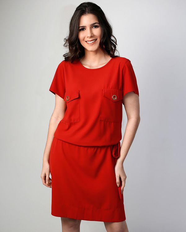Vestido-Crepe-Bolsos-Com-Ilhois-Vermelho