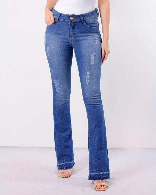 -Calca-Jeans-Boot-Cut-Bainha-Desfiada-Azul-