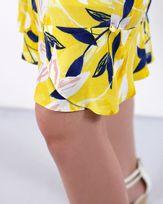 Vestido-Viscose-Estampado-Decote-Ombro-a-Ombro-Mangas-Assimetrica-Amarelo-