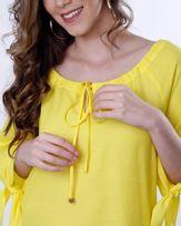 Blusa-Viscose-Ombro-a-Ombro-Mangas-com-No-Amarelo-Siciliano