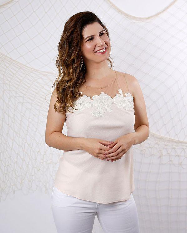Blusa-Linho-Tule-com-Aplicacao-Natural