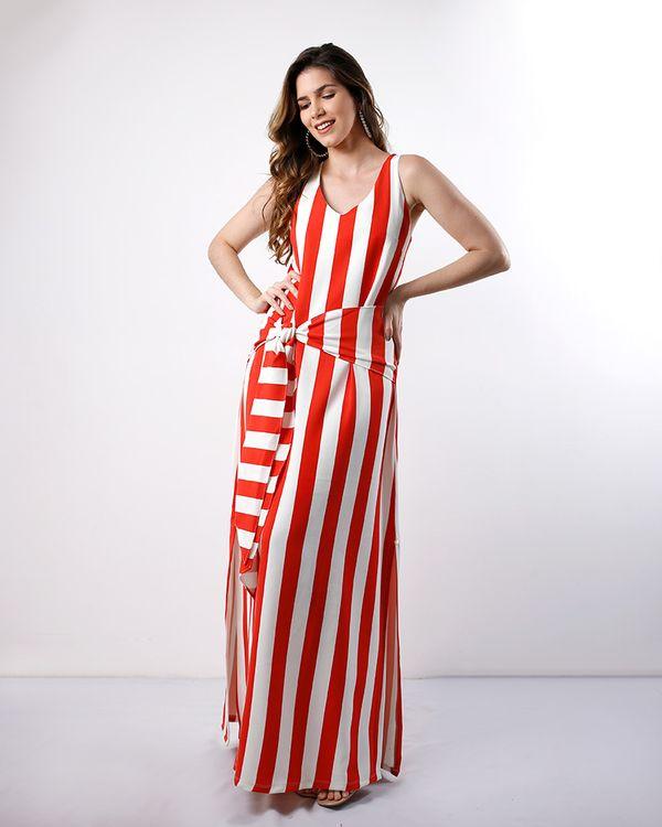 Vestido-Longo-Crepe-Listras-com-Faixa-Vermelho