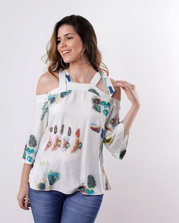 Blusa-Tecido-Estampa-Malibu-Ombro-Vazado-Off-White