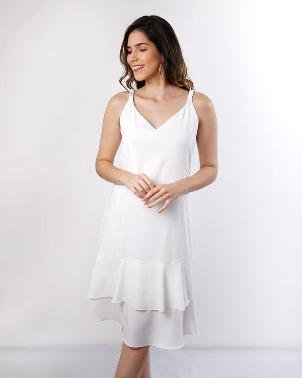 Vestido-Crepe-Babado-Assimetrico-Off-White-
