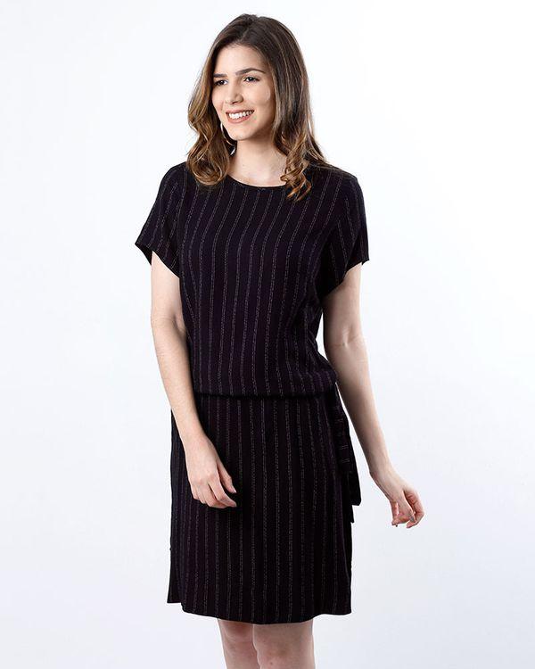 Vestido-Crepe-Estampa-Listras-com-Faixa-Preto