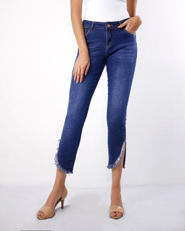Calca-Jeans-Cropped-Stone-Bainha-Desfiada-Azul