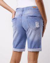 Bermuda-Jeans-Destroyer-Delave