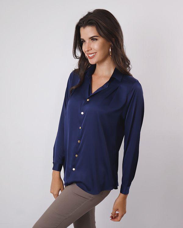 Camisa-Tecido-Acetinado-Ombro-com-Pregas-Marinho-