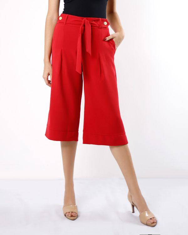 Calca-Pantacourt-Tecido-com-Faixa-Destacavel-Vermelho