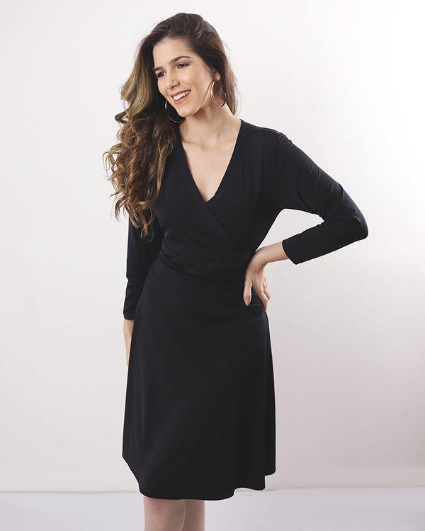 Vestido-Malha-Jersey-com-Transpasse-Preto-