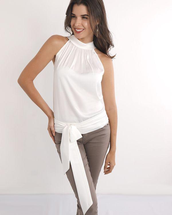 Blusa-Tecido-Acetinado-Super-Cava-com-Gola-e-Faixa-Off-White