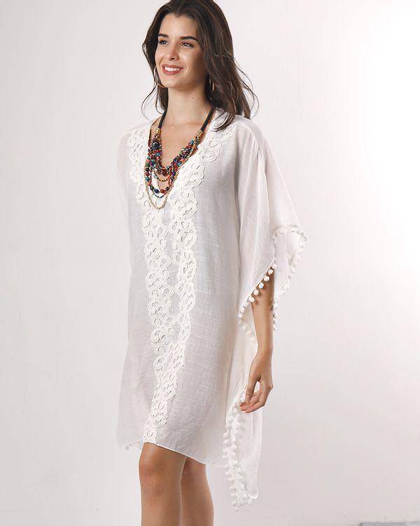 Vestido-Caftan-Tecido-Frente-com-Guipir-e-Pompom-Off-White-