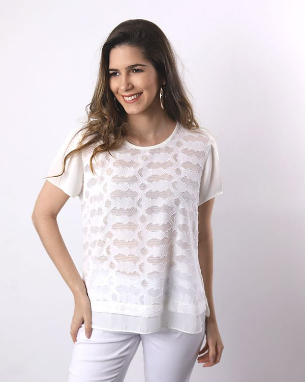 Blusa-Crepe-Bordado-Manga-Curta-Off-White