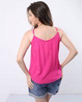 Regata-Crepe-Decote-com-Bordado-Rosa-Flamingo