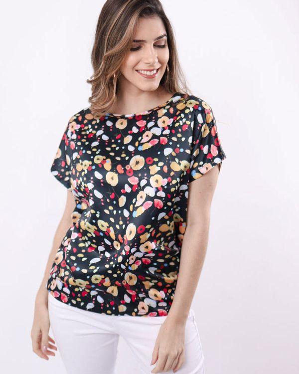 Blusa-Tecido-Acetinado-Estampa-Floral-Estampado