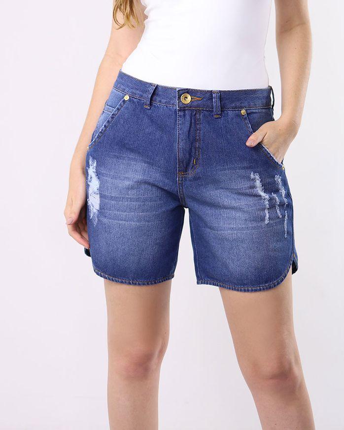Bermuda-Jeans-Destroyer-Azul-