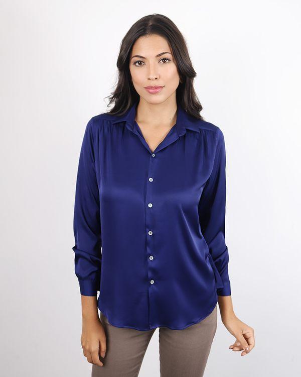 Camisa-Tecido-Acetinado-Manga-Longa-Marinho-