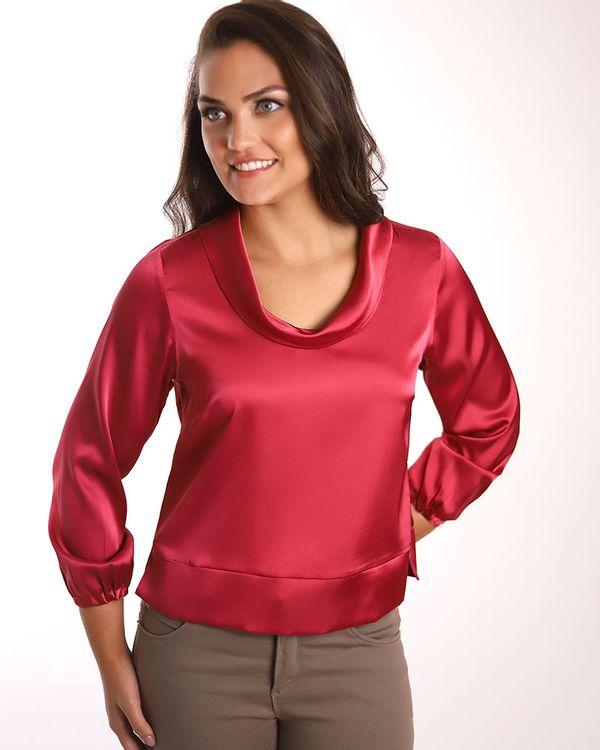 Blusa-Tecido-Acetinado-com-Gola-Drapeada-Rosa
