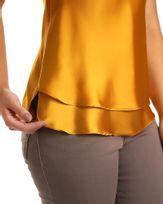 Regata-Tecido-Acetinado-Alca-Regulavel-com-Elastico-Amarelo