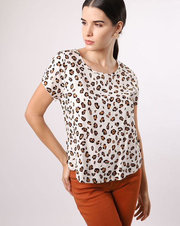 Blusa-Viscose-Estampa-Animal-Print-Laterais-com-Botes-Off-White