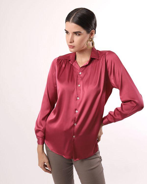 Camisa-Tecido-Acetinado-Manga-Longa-Rosa