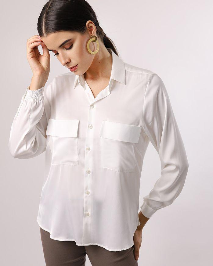 Camisa-Lomg-Line-Tecido-Acetinado-com-Bolsos-Off-White