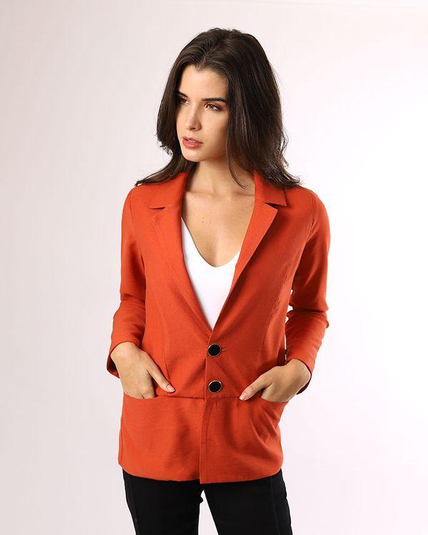 Blazer-Tecido-Frente-Bolsos-e-Mangas-com-Ziper-Telha