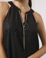 Blusa-Super-Cava-Tecido-com-Foil-Decote-Corrente-Destacavel-Dourado