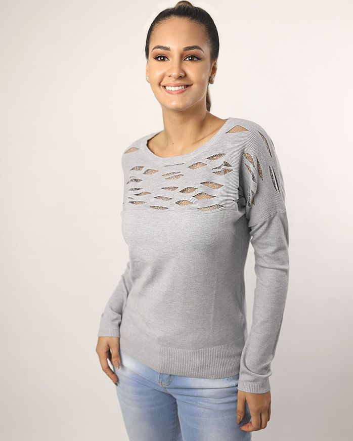 Blusa-Tricot-Leve-Frente-Detalhe-Tule-Metalic-Cinza-