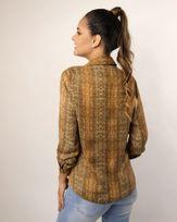 Camisa-Tecido-Acetinado-Estampado-Ombro-com-Franzido-Ocre