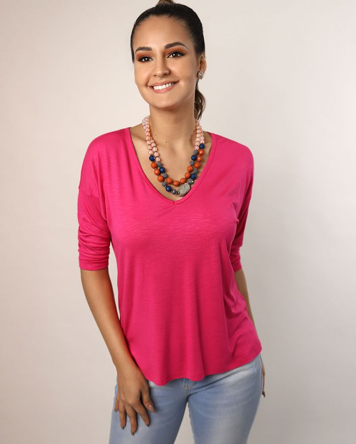 Blusa-Malha-Flame-Decote-V.-Pink-