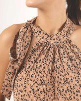 Blusa-Tecido-Estampado-Super-Cava-Balone-Decote-com-Laco-Caqui