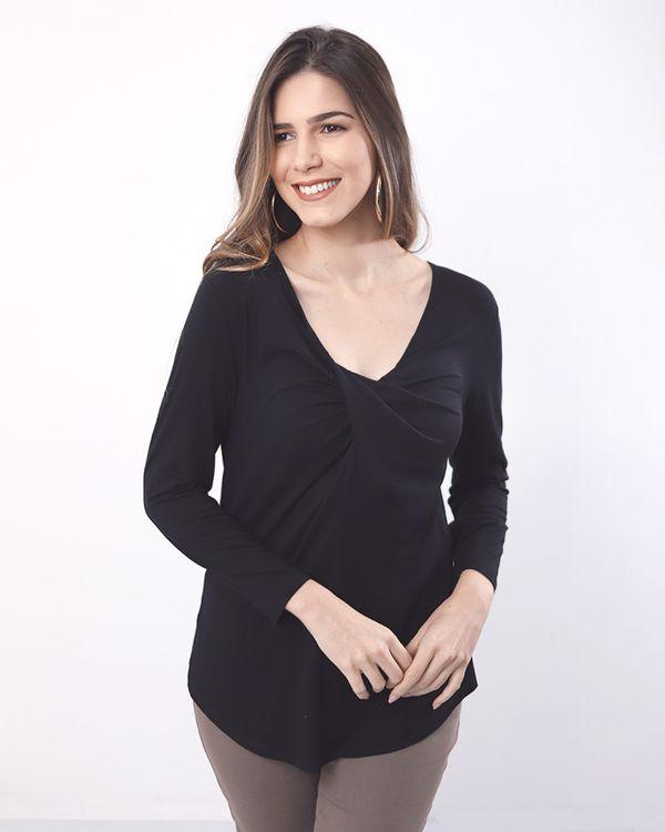 Blusa-Malha-Decote-Torcido-Preto-