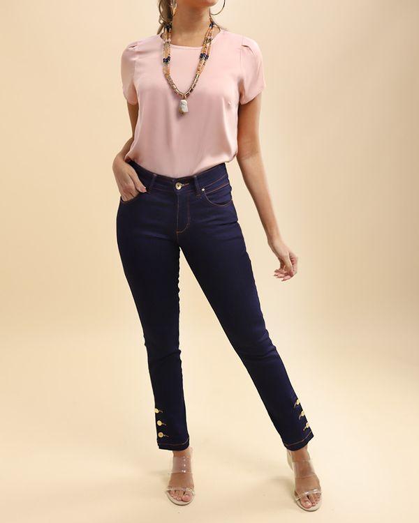 Calca-Jeans-Skinny-Perna-com-Botoes-Azul-