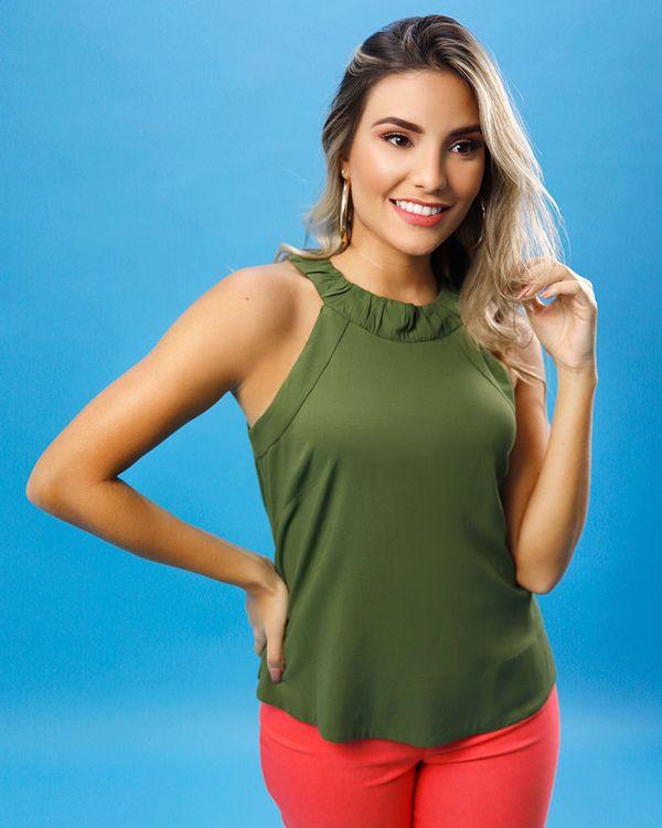 Blusa-Super-Cava-Viscose-Decote-com-Franzido-Verde