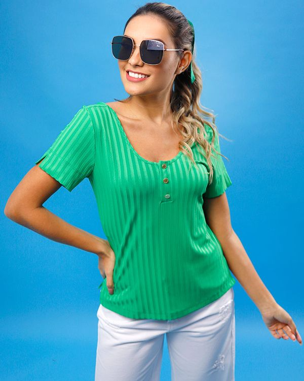 Blusa-Malha-Canelada-Decote-com-Botoes-Verde-Pistache-