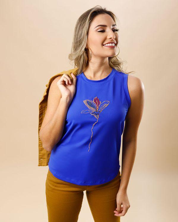 Blusa-Malha-com-Bordado-Marias-de-Cava-Azul-