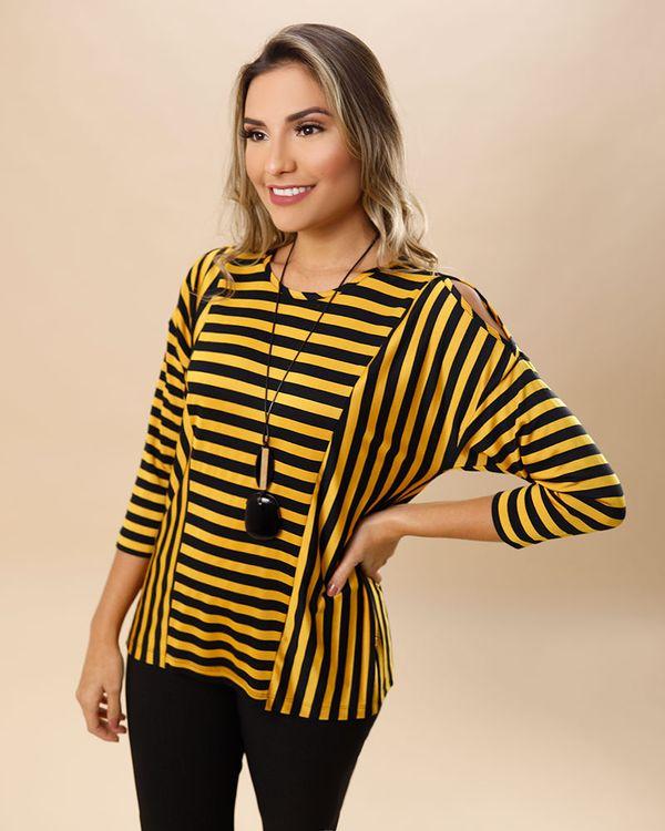 Blusa-Malha-Listras-Ombro-Vazado-Amarelo-Vida