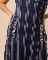 Vestido-Tecido-Listras-Frente-Pregas-com-Botoes-Marinho-