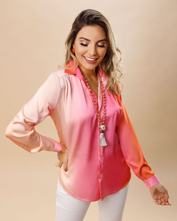 Camisa-Tecido-Acetinado-Estampa-Portofino-Ombro-com-Franzido-Rosa