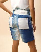 Bermuda-Tecido-Estampa-Dip-Dye-Cos-com-Elastico-e-Faixa-Azul-Ceu