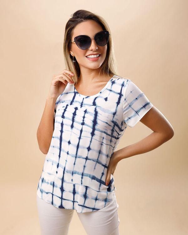 Blusa-Viscose-Estampa-Tie-Dye-Manga-Curta-Azul-
