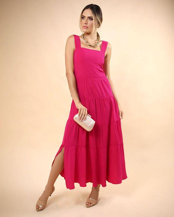 Vestido-Longo-Tecido-com-Franzidos-Costas-Lastex-e-Alcas-com-Regulagem-Pink
