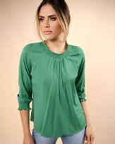 Blusa-Tecido-Decote-e-Punho-com-Lastex-Verde-Menta