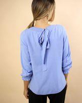 Blusa-Tecido-Decote-e-Punho-com-Lastex-Azul-Ceu-
