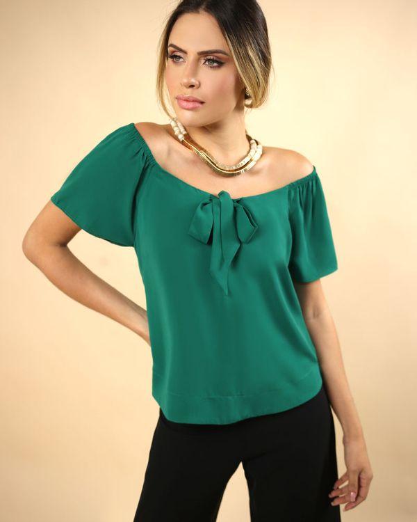 Blusa-Tecido-Ombro-a-Ombro-Decote-com-No-Verde-Pistache