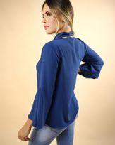Blusa-Tecido-Decote-Faixa-Destacavel-Mangas-Flare-com-Nesga-Marinho