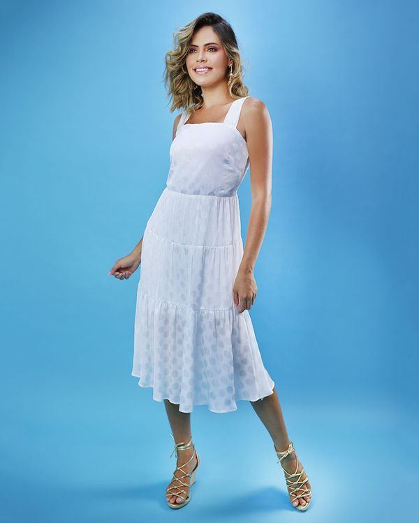 Vestido-Midi-Tecido-Texturizado-com-Franzido-Off-Limoncello