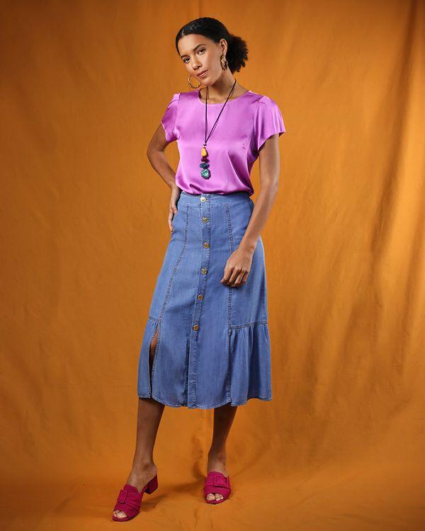 Saia-Longa-Jeans-Frente-com-Botoes-e-Fendas-Azul