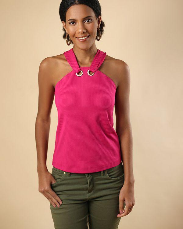 Blusa-Super-Cava-Malha-Canelado-Decote-com-Ilhoses-Pink